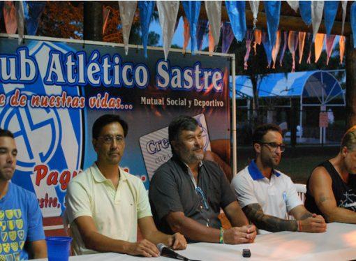 El básquet menor de Atlético Sastre presentó su temporada