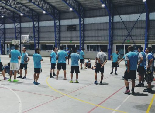 Comenzó la era Verón en el futsal de Atlético Sastre
