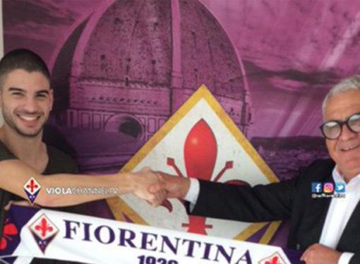 Fiorentina presentó a Toledo como su nueva joya