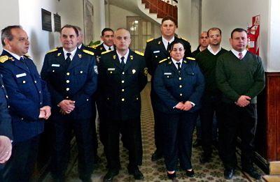La Unidad Regional XVIII conmemoró el aniversario 153 de la Policía provincial