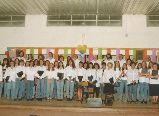 Abren muestra por los 20 años del Coro Municipal