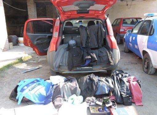 Persecución y detención en El Trébol