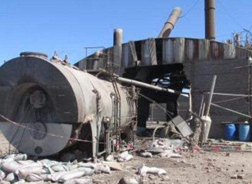 Cañada Rosquín: estalló una caldera y hay heridos