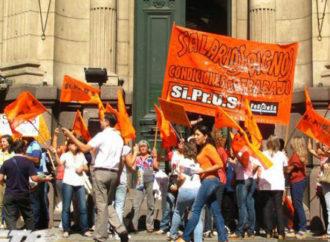 Paro y movilización de los trabajadores de Salud