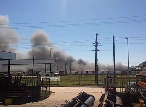 Un muerto en una explosión en fábrica de máquinaria agrícola de Las Parejas