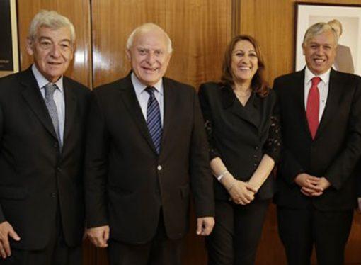 Lifschitz encabezó una misión con empresas en Chile