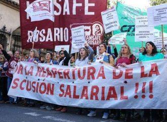 La provincia descontará los días no trabajados a los docentes que hagan paro