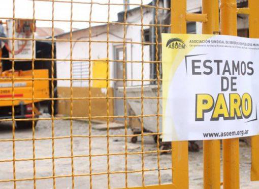 Los municipales no descartan 72 horas de paro para la semana próxima