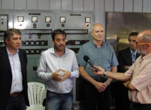 La EPE inauguró obras eléctricas en la estación transformadora de San Jorge