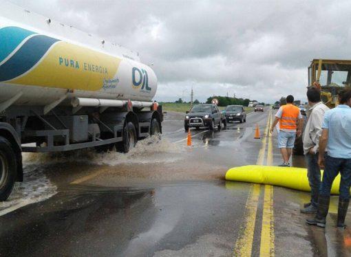 Provincia asiste a localidades del departamento San Martín afectadas por inundaciones