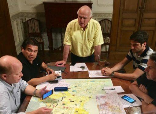 """Lifschitz: """"Estamos poniendo todos los recursos del Estado para enfrentar la emergencia hídrica"""""""