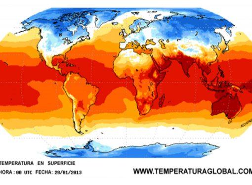 La temperatura global batió todos los récords en 2016
