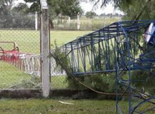 El temporal dejó serios daños en toda la región