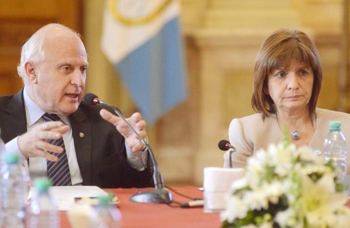 Bullrich propone a Lifschitz una agencia de inteligencia conjunta de Nación y Provincia