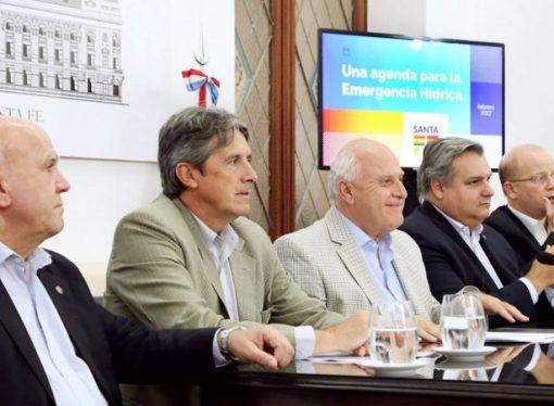 Lifschitz anunció obras para hacer frente a la emergencia hídrica y asistencia a tamberos