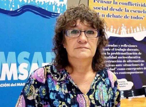 """Para Sonia Alesso, """"a mitad de año hay que reabrir la paritaria docente"""""""