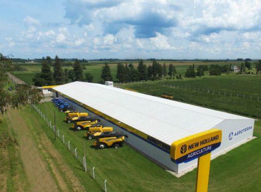 Invierten u$s3 M para levantar concesionario del agro más grande del país
