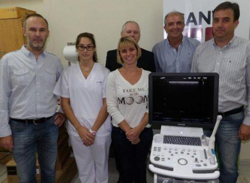 El hospital de San Jorge recibió un nuevo ecógrafo