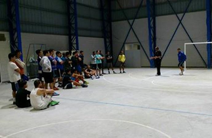 """La """"Academia"""" y un debut histórico en futsal"""