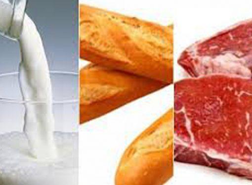 Cómo se forman los precios de la carne, la leche y el pan
