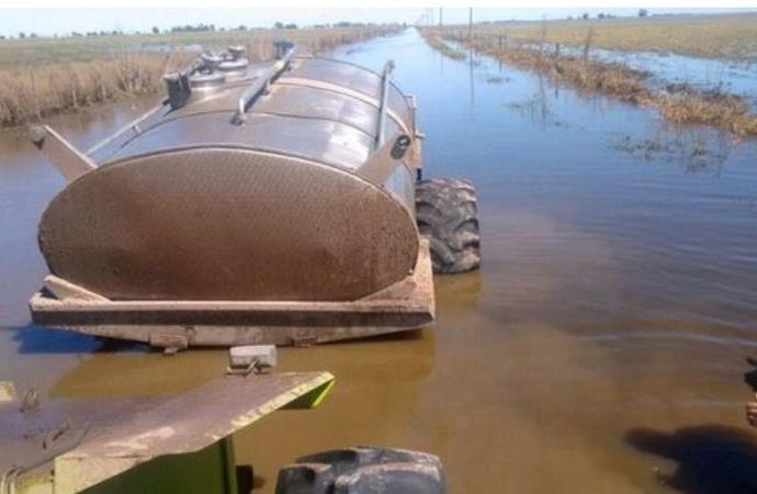 Cuatro de cada diez empresas agropecuarias se inundaron este año