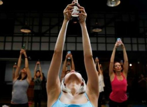 Nace una nueva tendencia: el yoga cervecero