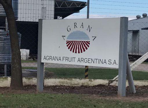 """Contigiani, sobre Agrana Fruit: """"Queremos hacer viables 53 puestos de trabajo"""""""