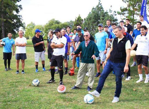 Trebolense realizó su primer torneo de footgolf con 70 inscriptos
