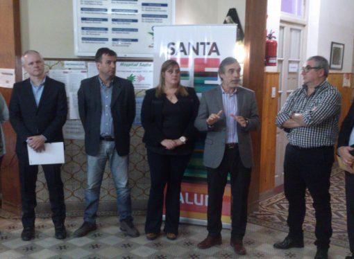 Depiante asumió como nueva directora del Samco Sastre