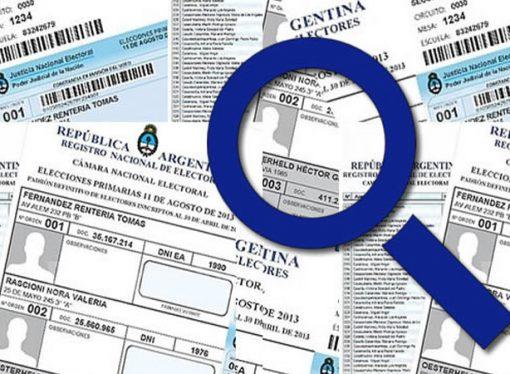 Padrón electoral 2017: chequeá tus datos para poder votar