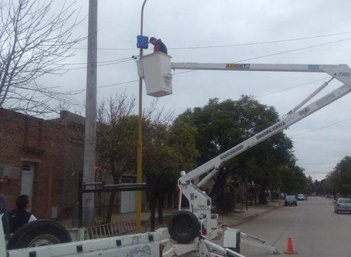 Sastre refuerza la seguridad y suma nuevas cámaras de vigilancia