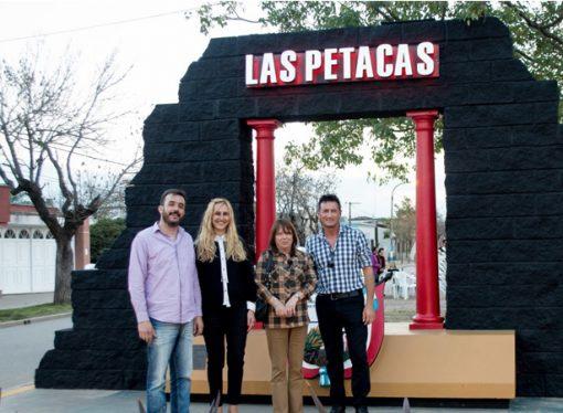 La provincia inauguró la iluminación del acceso a Las Petacas
