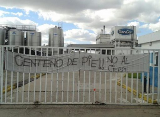 ¿Cuánto cuesta la planta que SanCor tiene en Centeno y que no está en sus planes?