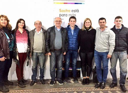 Cantard visitó Sastre y pidió apoyo para la lista de Baravalle