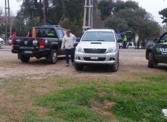 Seguridad Vial montó un mega operativo de control vehicular en San Jorge