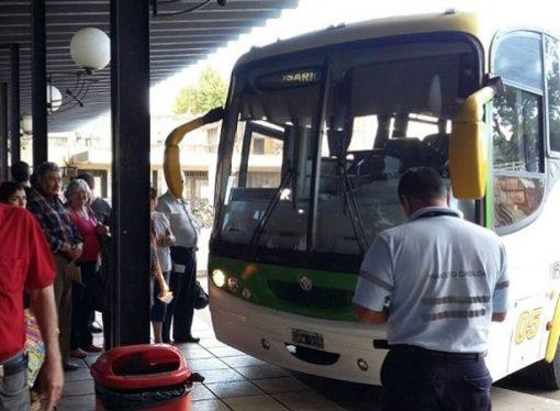 Extienden la suspensión del servicio de transporte interurbano hasta el 31 de marzo