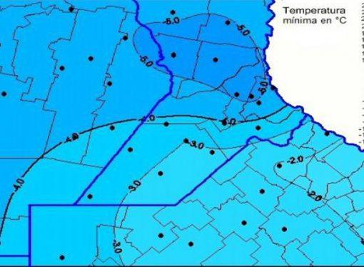 ¿Cómo impactó en la zona núcleo el día más frío del año?