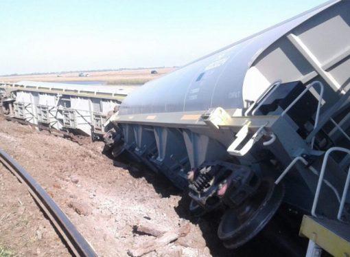 Descarriló un tren en Casas