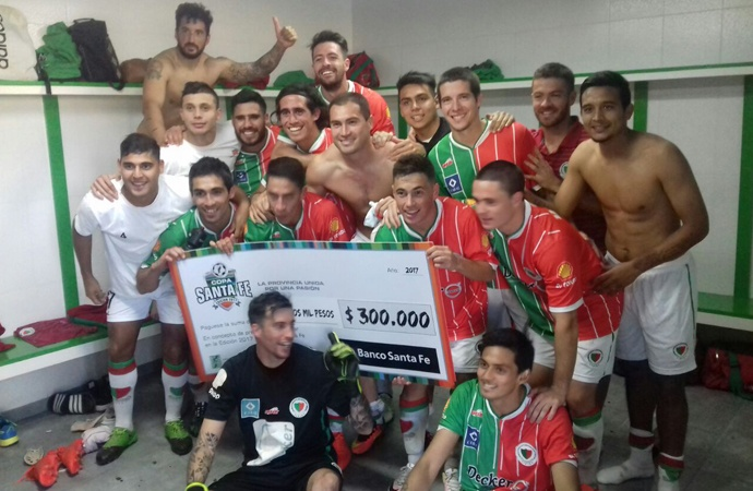 Copa Santa Fe: Atlético San Jorge eliminó al campeón