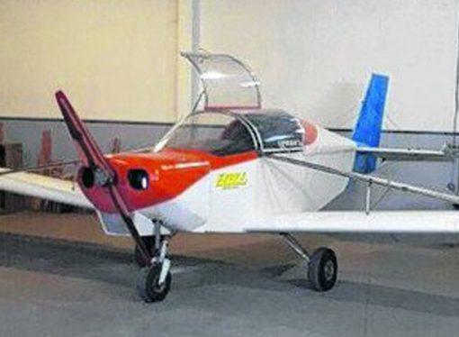 Primera vez en el país: fabrican un avión con motor diesel gasolero