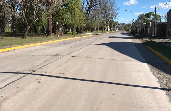 Funcionarios provinciales llegan a Sastre para cortar cintas del nuevo acceso