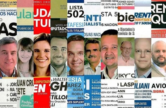 Oficializaron boletas para las elecciones generales