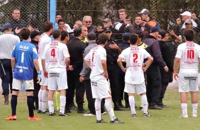 La séptima fecha quedó manchada por la suspensión en El Trébol