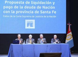 Santa Fe presenta ante la Corte el reclamo por la deuda de la Nación