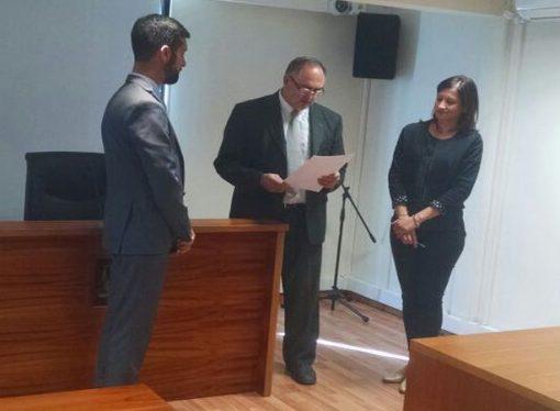 Staiger juró como fiscal y se suma a Zoppegni en la sede judicial de la región
