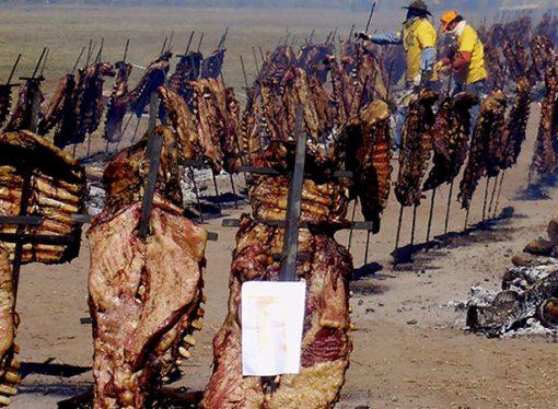 Asado del tamaño de Capital Federal, toneladas de yerba, piletas de vino: qué aporta el campo al país