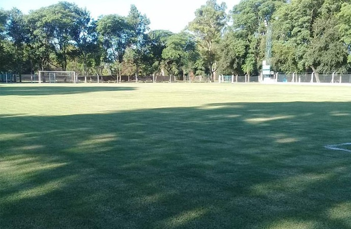La Academia colocará riego artificial en la cancha principal de fútbol