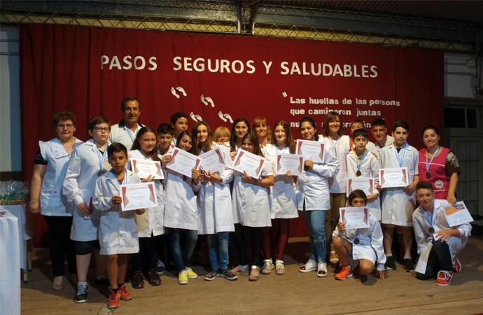 Alumnos de Landeta fueron distinguidos en Tecnópolis por proyecto saludable