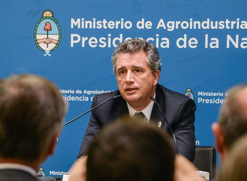 Etchevehere presentó al nuevo gabinete de Agroindustria