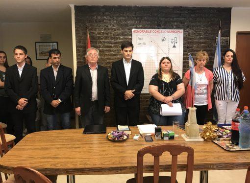 Fumigaciones: Productores agropecuarios estuvieron en el Concejo